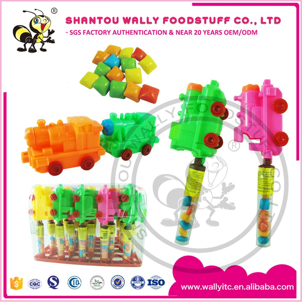 Train Toys With Assorted Fruits Flavours Bubble gum