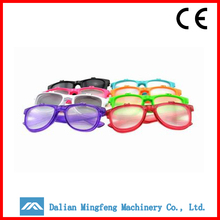Cheap plastic frame decode 3d glasses producer