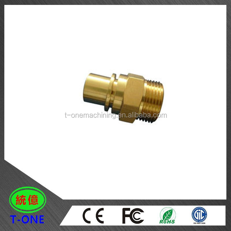 cnc machining brass parts motor piston / customized auto spare parts