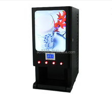 High class professional multifunctional full automatic fresh milk coffee vending machine