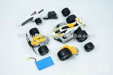 9109 High Speed 2.4G 1:12 RC Car Models 3 In 1