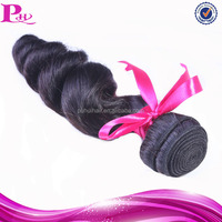 cheap natural color 100% human virgin hair extention