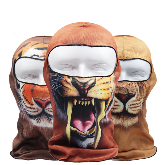 New Brand 3D Balaclava Hats Bicycle Cycling Face Masks Motorcycle Biker Skiing Snowboard Helmet Ski Full Face Mask