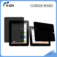 High quality 30-45 degree anti-spy privacy screen protector for ipad