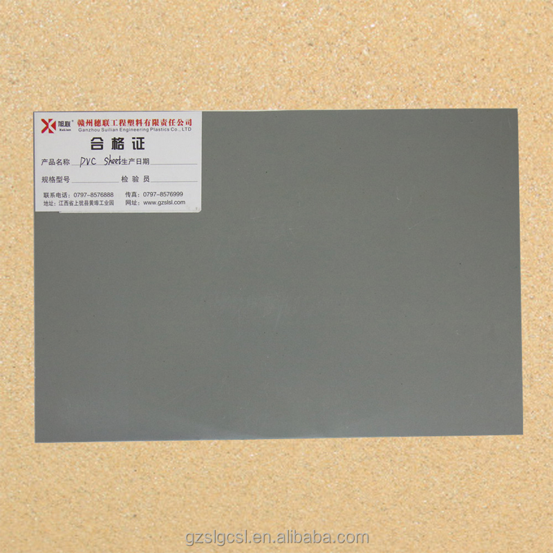 10mm Thick Rigid pvc board