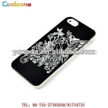 popular craft shiny surface hard shell cover for iphone5s case