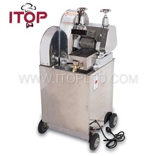 automatic stainless electric sugar cane juice machine/sugarcane juice machine