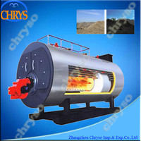 2015 Most Popular and Energy oil or Gas Steam Generator Price (horizontal type & steam 0.5-6tons/hr)