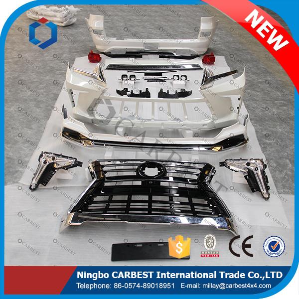 High Quality Car Body Kits For Toyota Land Cruiser FJ200 2016 Upgrade to LX570 2016