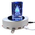 3D Private Model Magnificent Sync and Charging USB 2.0 Hub 4 Port with Portable Adapter Cable