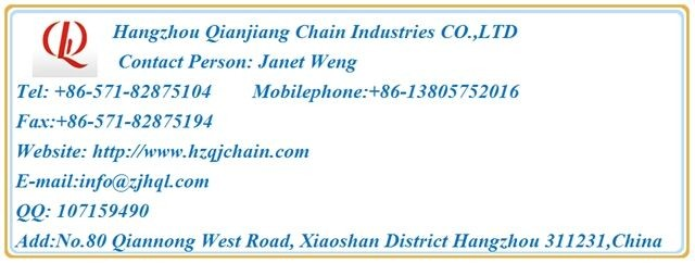 CL16 P=25.4mm High quality silent chain for textile machinery use