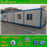 fast assemble good insulated sandwich panel mobile container log house for sale