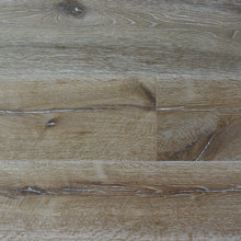 Rustic style oak psarquet smoked Brushed 3 - ply engineered Wood Flooring