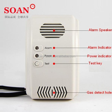 Soan high sensitive CO and Gas Detector with solenoid valve