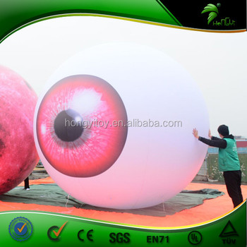 2017 Latest Inflatable Eyebulb Balloons for promotion and advertising