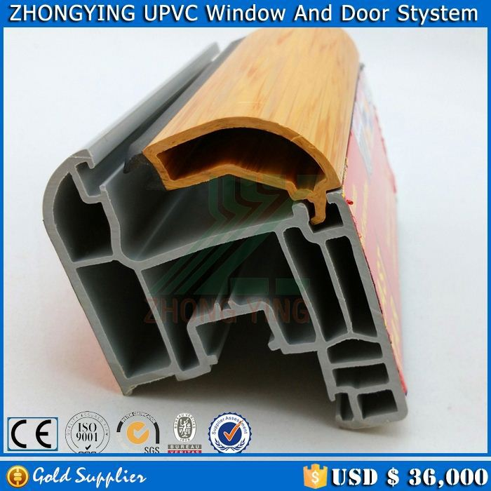 5 Tons MOQ dimex upvc window profile