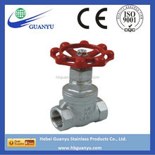 stainless steel stem gate valve price China factory