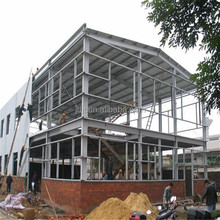 steel structure/industrial portal frame steel structure warehouse