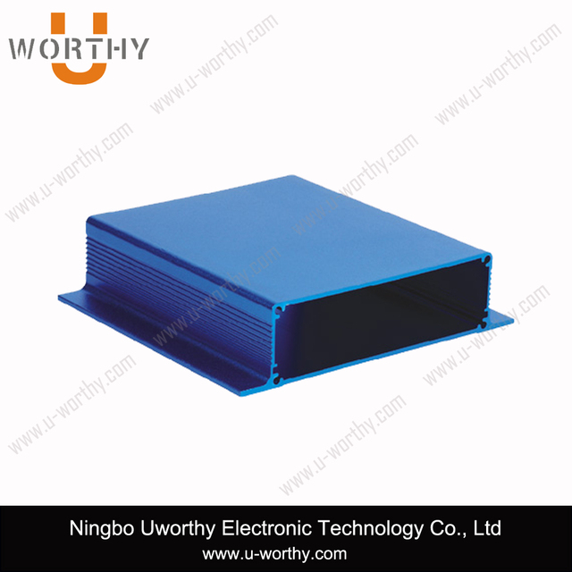 Custom Length Metal Box Type Anodized Aluminum Housing for Converter Enclosure