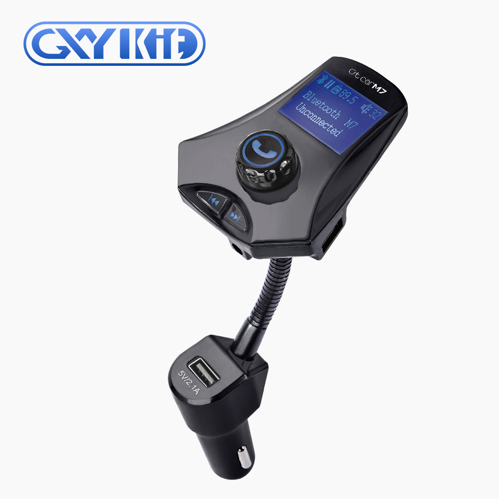 Wireless car kit mp3 player bluetooth fm transmitter 1.44 LCD remote control