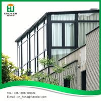 High Quality Aluminum Alloy Glass Green