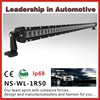 High lumen 50 inch cree off road led work light bar ,single row led light bar 50inch for truck, ATV,off-road vehicles