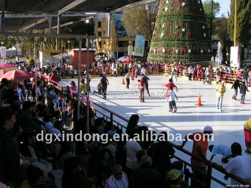 HDPE plastic ice mat for ice rink, Ice Portable Piping System