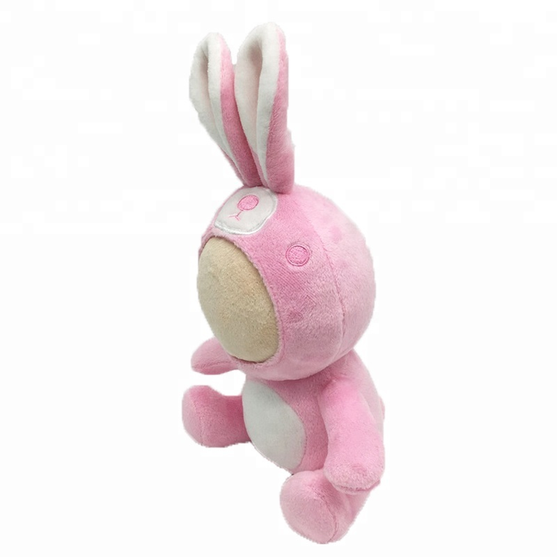 Pink Long Ears <strong>Rabbit</strong> Three hot selling styles plush toy for kid