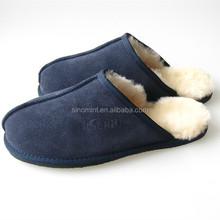 magnetic massage slipper with Australia sheepskin material