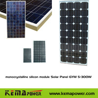 Monocrystalline silicon module Solar Panel GYM 220-300W