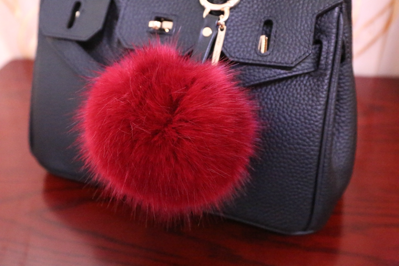 STABILE 2017 most popular genuine mink fur pom pons balls 4cm in animal fur/OEM wholesale online
