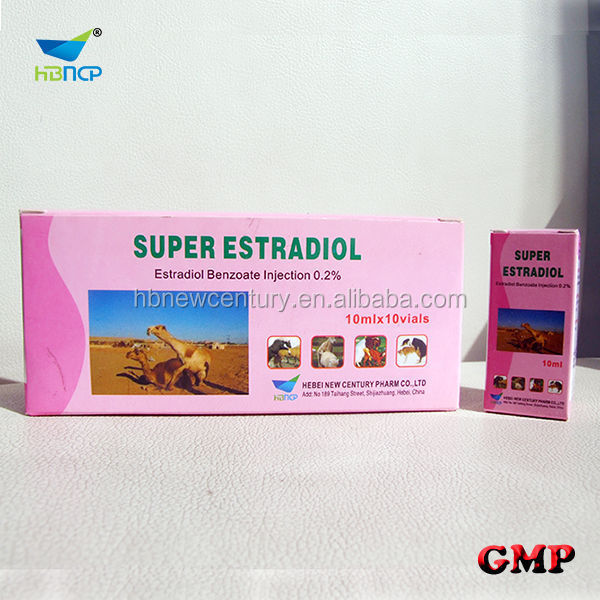 0.2% estradiol benzoate injection