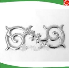 stainless steel door flower decoration accessories for gate or railing ornaments