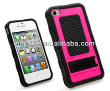Cheap phone cases,Black Rugged Rubber Matte Hard Case Cover/accessories For iPhone 4 4s 4gs