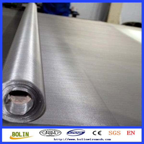 550 mesh stainless steel conveyor belt / 25 micron stainless steel wire mesh (free Sample)