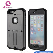 Hybrid 3 in 1 complete screen protector built-in kickstand armor cover case