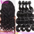 Wholesale Factory Price Brazilian Human Hair Weave Straight 8 to 30 Inces No Tangle No Shed Human Hair Weave Bundles
