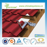 roof tile photovoltaic solar mounting system