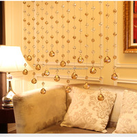Romantic beaded curtain door beads string curtain for room