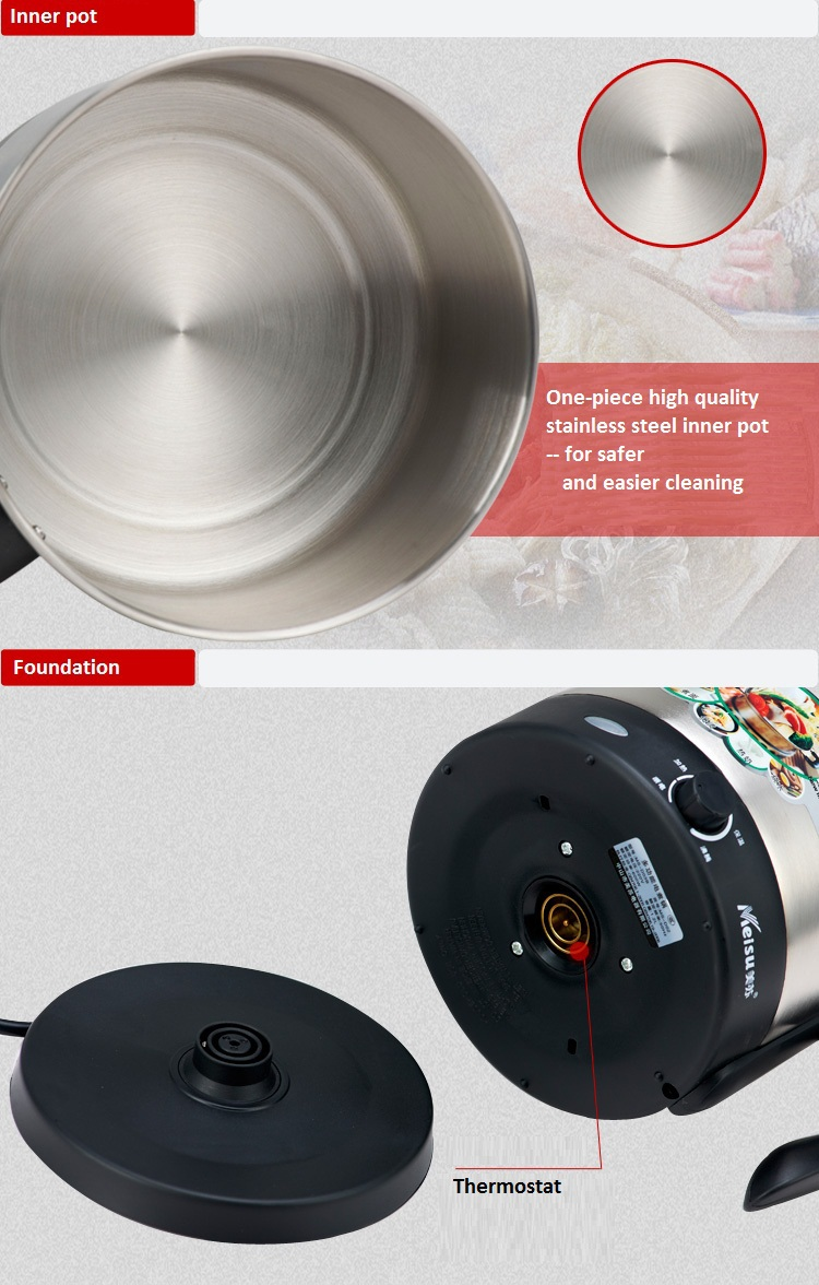 Indoor cooking pots, electric multi cooking pot,electric mini hot pot