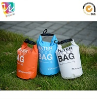 Double Backpack Strap 30L PVC Waterproof Barrel Dry Bag