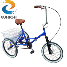 High quality new covered cabin folding tricycle for sale