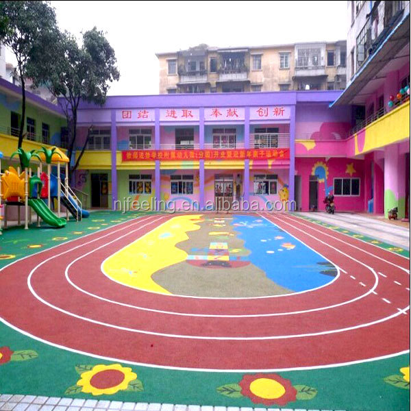 Rubber Flooring For Exterior Playground Rubber Floor Mat