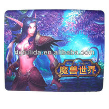 World of War Craft Games Heating Pad Gaming Mouse Mat