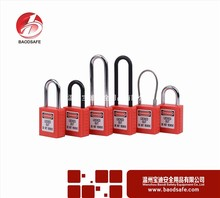 Wenzhou Safety Lockout Non Conductive Different Type Of Padlock 38mm plunger lock