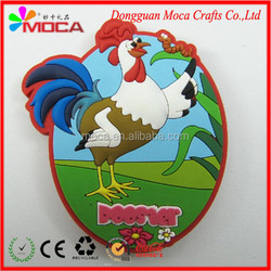 2D design soft PVC fridge magnet manufacturer