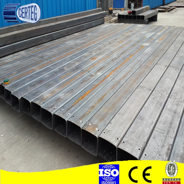 Rectangular hollow section square tube steel