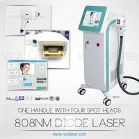 breast and bikini area permanent hair removal 808nm diode laser from Beijing VCA Laser Company