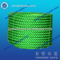 Alibaba china hot sell 3 strand pp sea farming rope