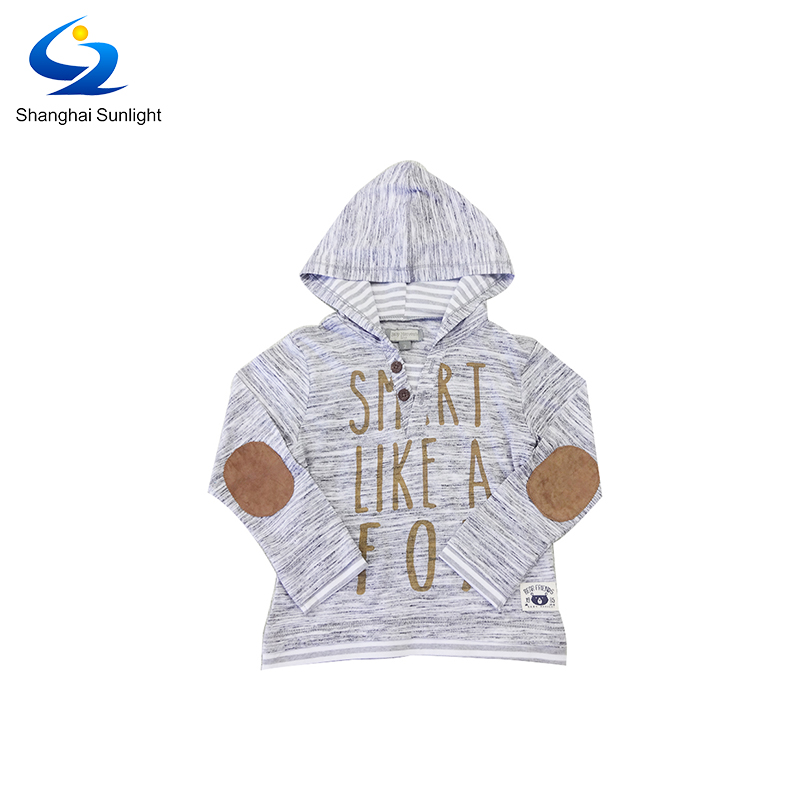 Profession Custom Plain Dyed French Terry Baby Cotton Polyester Pullover Hoodie